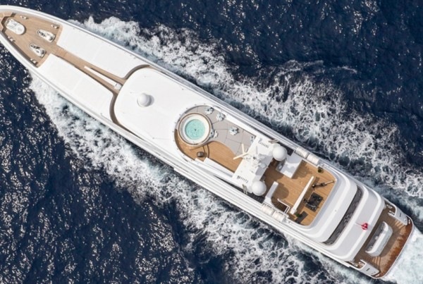 Dubois designed 58M Motor yacht. Awarded 2015 Motoryacht refit of the year award by POWER YACHT REFIT 2015 at the International Yacht and Aviation Awards ceremony